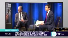 Former Starbucks CEO Howard Schultz heckled after teasing 2020 presidential run
