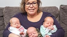 Mum conceives baby through IVF – while already pregnant with twins