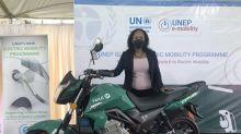 ALYI Electric Motorcycle Rideshare Program Parallels UN E-Boda-Boda Program