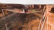 【超離地婚禮】在400呎空中講「我願意」!