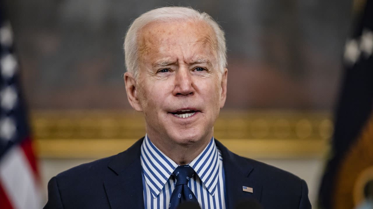 Image Biden to sign voting rights executive order to mark