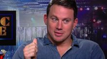 Watch Channing Tatum Hold On to Our $100 During 'Magic Mike XXL' Interview