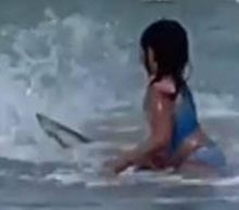 'My soul left my body.' Shark startles 6-year-old playing in surf, Hawaii video shows