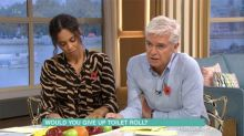 'This Morning': Phillip Schofield and Rochelle Humes perplexed by toilet paper study