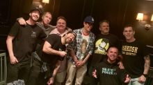 Johnny Knoxville's dinner photo sparks rumours of reunion for 'Jackass 4'