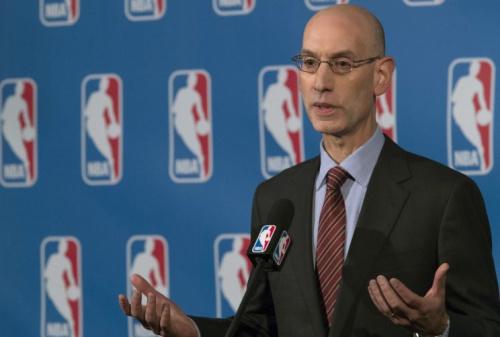 NBA commissioner Adam Silver (AP)