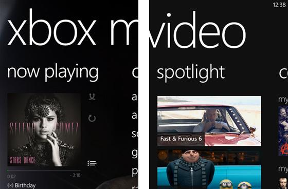 Microsoft releases standalone Xbox Music and Xbox Video apps for Windows Phone 8