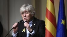 Exiled Catalan minister criticises Europe's silence over separatist prisoners
