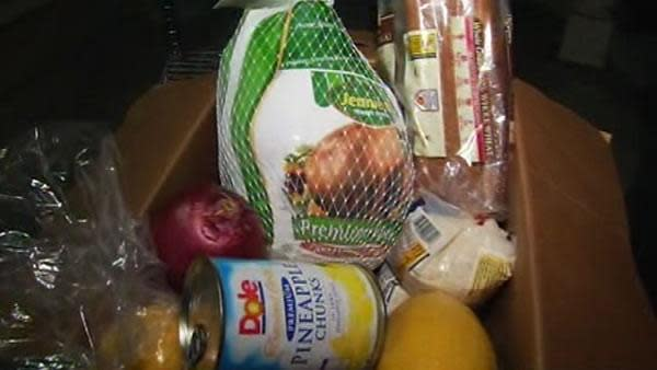 People camp overnight for SJ food pantry