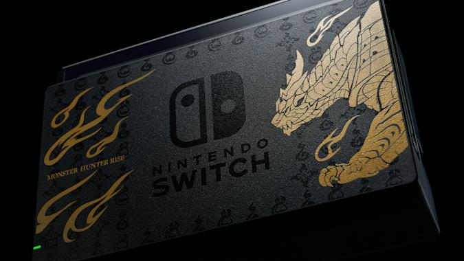 Limited edition 'Monster Hunter Rise' Nintendo Switch