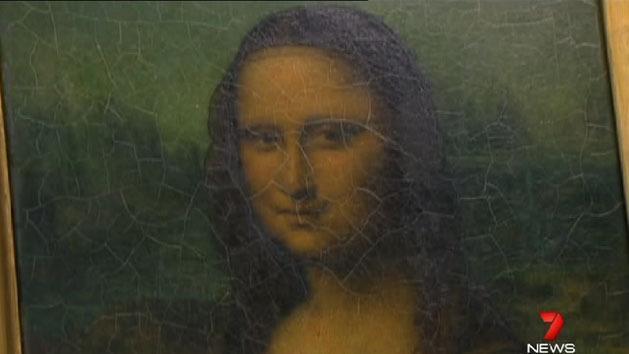 Mona Lisa with a twist