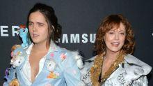 Susan Sarandon's Son Makes Interesting Fashion Choice For Zoolander Premiere