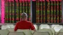 Stocks suffer trade jitters, dollar braced for more Fed talk