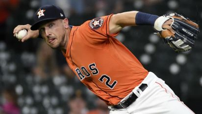 Astros lineup wiped out by COVID protocols