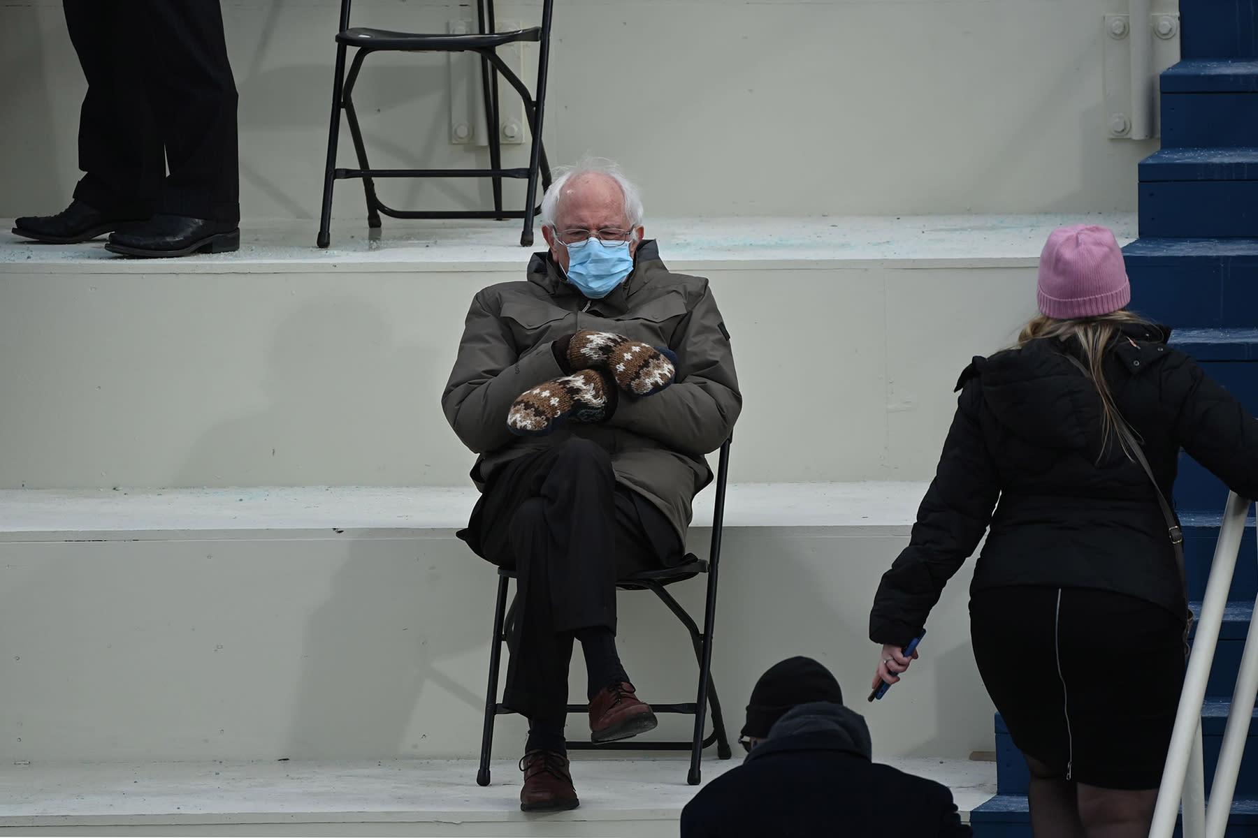 The Photographer Behind The Bernie Sanders Chair Meme Tells All