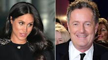 Piers Morgan calls Meghan Markle 'fake' and a 'social climber' during TV interview