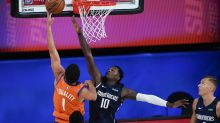 Suns make it 2 straight in restart by topping Mavs 117-115