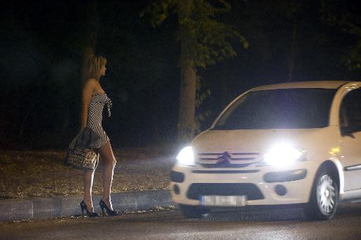 prostitutas servicios atrapado