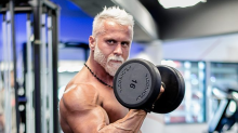 This 35-year-old fitness pro intentionally looks double his age