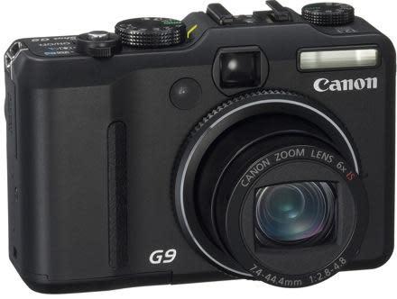 Canon's PowerShot G9: the DSLR wannabe