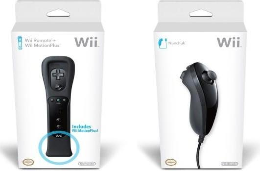 Black Wiimote, MotionPlus, and Nunchuk out before Black Friday