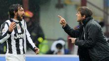 Inter-Juve, Conte contro il 'pensionato' Pirlo: non lo voleva, lo ha fatto vincere