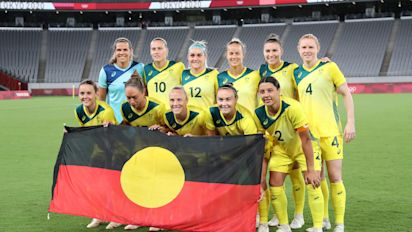 Matildas strike balance in search for team identity in Olympics opener