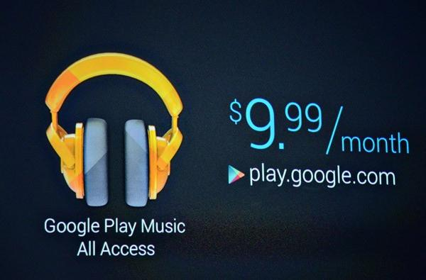 Google Play Music All Access: Android / US-only rollout is just the start