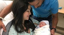 Mira en video la primera sonrisa del bebé de Ana Patricia a una semana de haber nacido