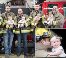 Firehouse Welcomes 6 Babies in 7 Months: 'We've Been Having a Baby Shower Every Month'