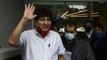 Evo Morales leaves Argentina for Venezuela: report