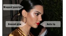 Kendall Jenner Just Matched Her Glow to Her Dress