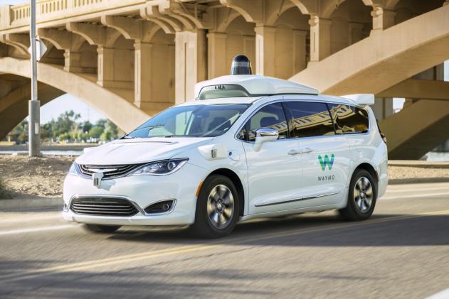 Waymo's self-driving vans will start picking up Lyft riders in Phoenix