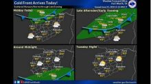 Cold front headed to North Texas, bringing cooler temperatures and chances of rain