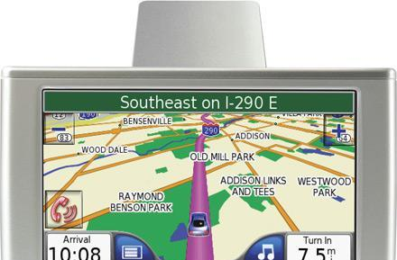 Garmin Nuvi 670 / 680 with MSN Direct