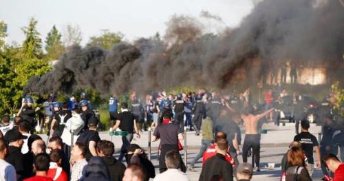 Foot - Justice - Deux mois ferme pour un supporter de Besiktas impliqué dans les incidents du Parc OL