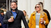 Ben Affleck and Girlfriend Lindsay Shookus Enjoy Dinner With Her Parents in L.A. -- Pics