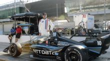 NASCAR champ Johnson enamored with IndyCar after test