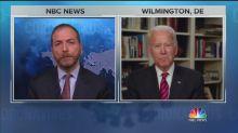 NBC's Chuck Todd Asks Biden If Trump Has 'Blood' on His Hands Over Coronavirus Response