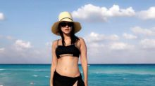 Watch Sunny Leone frolicking on the beach in Mexico