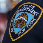 Video shows NYPD officer being doused with water in Harlem