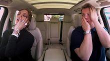James Corden Texts Leonardo DiCaprio On Jennifer Lopez's Phone During Carpool Karaoke