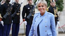Brigitte Macron's French first lady style