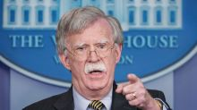 White House national security adviser John Bolton says Palestine is 'not a state'