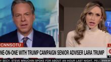 CNN's Jake Tapper scolds Lara Trump for seemingly mocking Joe Biden's stutter in heated interview