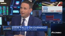 DSW CEO Roger Rawlins on 2019 outlook, corporate name cha...