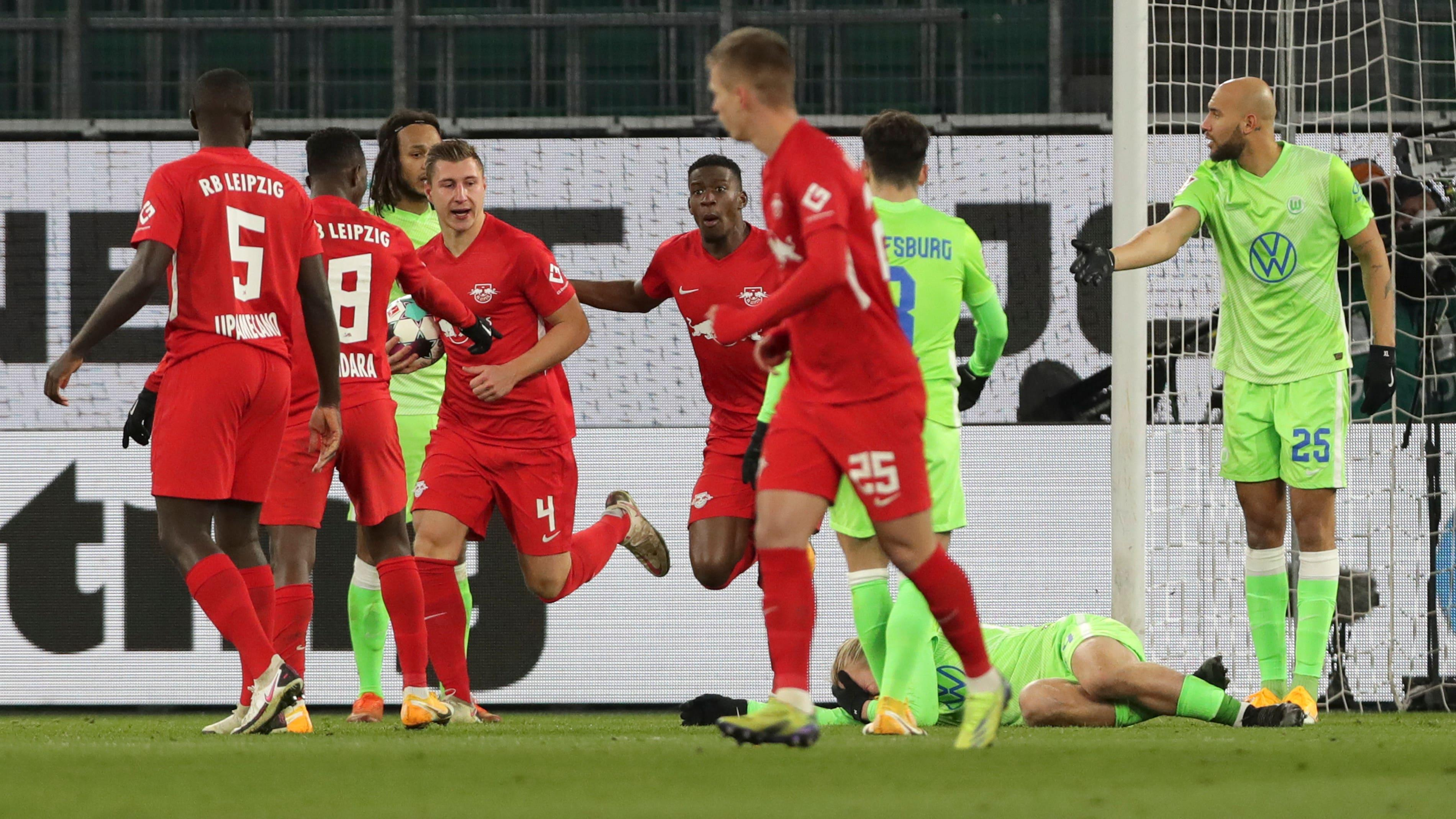 RB Leipzig miss chance to climb Bundesliga summit after draw at Wolfsburg
