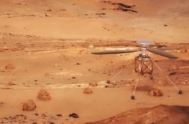 NASA is sending its first autonomous helicopter to Mars in 2020