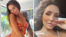 OnlyFans star Vanessa Sierra shows natural hair after backlash
