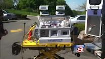 Hospital unveils new pediatric ambulance